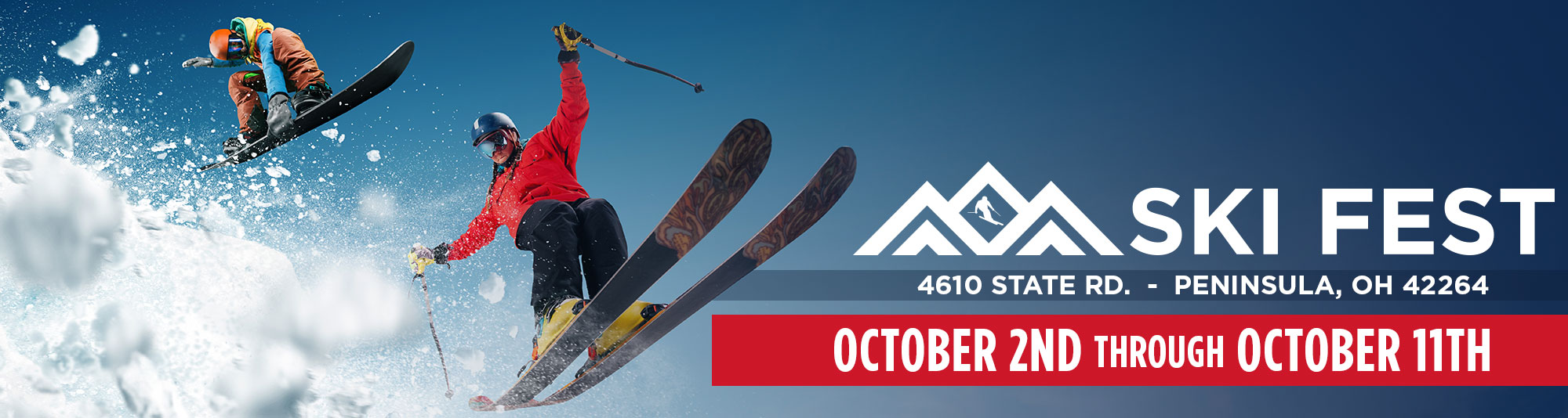 2020 Ski Fest at Buckeye Sports Center Friday October 2nd through Sunday October 11th